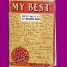 MY BEST BOOK Magicians Secrets Stage Close Up 193 Magic Tricks Effects Gag NEW
