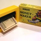 MONEY MAKER PRINTER Toy Magic Trick Dollar Bill Machine Changes Beginner Joke