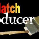 4 Set LIT MATCH PRODUCER Metal Magic Trick Fire Light Lite Gimmick Lapel Pocket