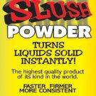 4 OZ INSTANT SUPER SLUSH POWDER JAR Large Joke Magic Trick Add Water Solid Gell