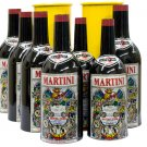 MULTIPLYING BOTTLES 8 Set Comedy Stage Magic Trick Metal Tubes Appearing Martini