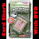 CARD SHARK DECK + DVD Set Tapered Magic Tricks Effects