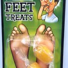SMELLY FEET CANDY TREATS Flavored Bad Tasting Prank Joke Trick Gag 2 Hard Funny