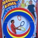 3 JUGGLING RINGS Kids Beginner Set Juggle Prop Arts Hoops Spinning Tricks Kit