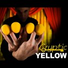 "4 CRYPTIC YELLOW 2"" SPONGE BALLS Magician Magic Trick Set Foam Street Close Up"