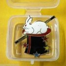 MAGICIAN LAPEL PIN RABBIT IN HAT Magic Jewelry Tie Bunny Trick Top Wand Badge