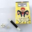 SHRINKING DIE Dice Mini Wand Kit Pocket Magic Trick Plastic Set Toy Shrinks Tiny