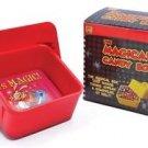 MAGICAL CANDY BOX PAN Dove Fire Clown Magic Trick Production Plastic Chick Color
