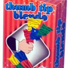 DELUXE THUMB TIP SILK BLENDO Scarf Hanky Magic Trick Set Kit Close Up Toy NEW