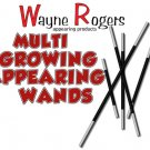 MULTI GROWING APPEARING WANDS 5 Set Magic Trick Production Rogers 8 FT Pole Gag