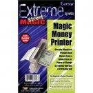 Deluxe MONEY MAKER PRINTER Toy Magic Trick Dollar Bill Machine Print Change Fake