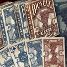 1 RED BICYCLE CIVIL WAR DECK of Playing Cards Poker Game Lincoln North South
