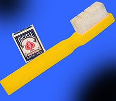 Funny CLOWN FOAM TOOTH BRUSH Sponge Prop Magic Trick Jumbo Toothbrush Dentist