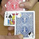 BICYCLE KARATE KARD Restored Playing Card Magic Trick Close Up Bar Wallet Chop