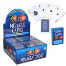 1 MIRACLE CARDS STRIPPER DECK Street Magic Trick Close Up Beginner Bar Force Ace