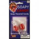 SOAPY TASTING CANDY Flavored Bad Soap Taste Prank Joke Trick Gag 2 Hard Sucker