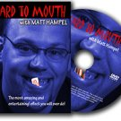 NEW CARD TO MOUTH DVD Close Up Magic Trick Playing Magician Matthew Hampel Deck