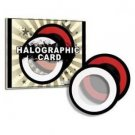 HOLOGRAPHIC CARD Halographic Disc Pocket Mental Magic Trick Close Up Force Bar