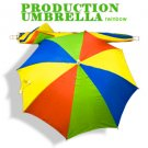 APPEARING PRODUCTION UMBRELLA Rainbow PARASOL Stage Magic Trick Clown Magician