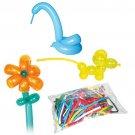 30 BALLOONS & PUMP #260 BAG KIT Animal Twisting Clown Multi Colors Sculptures
