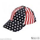 PATRIOTIC CANVAS BASEBALL HAT USA Stars Stripes Flag Cap Adult Uncle Sam RWB US