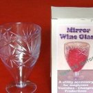 MIRROR WINE GLASS Magic Trick Change Silk Colors Appearing Magician Plastic Cup
