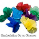 8 APPEARING PAPER SPRING FLOWERS FROM FINGERTIPS Manipulation Magic Trick Hand