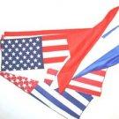 "18"" MIS MADE USA PATRIOTIC FLAG SILK SET Magic Trick Kid Show Gag Comedy Clown"