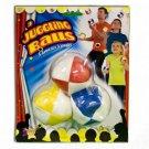 3 JUGGLING BALLS Kids Beginner Set Juggle Prop Arts Small Hands Bean Bags Panels