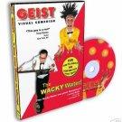 VISUAL COMEDY MAGIC DVD Napkin To Rose Trick Clown Gag