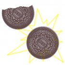 1 MAGIC RUBBER COOKIE TRICK Bands Bite Out Eat Oreo Magic Set Joke Kid Restore