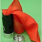 VERNET ALWAYS FULL EMPTY THUMB TIP Plastic Tube Vanishing Silk Magic Trick Large