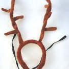 RUDOLPH THE RED NOSE REINDEER ANTLERS Christmas Costume Deer Hat Animal Furry