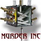 MURDER INC Sword Stand Illusion Stage Magic Trick Box