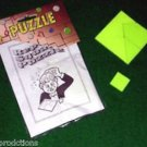 REPEAT SQUARE PUZZLE MAGIC TRICK Close Up Plastic Brain Teaser Funny Toy Gift