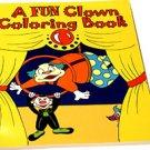 MAGIC CLOWN COLORING BOOK Kid Show Trick Magician Royal Pictures Change Color