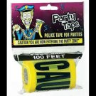 CAUTION ENTERING TAPE PARTY ZONE Police Bachelor Gag Joke Prank 100 Feet Ft Roll