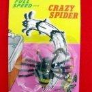 CRAZY PULL BACK SPIDER Running Bug Fake Prank Joke Toy Gag Scary Halloween