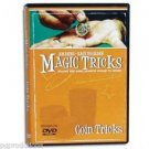 AMAZING MAGIC COIN TRICKS DVD Easy Learn How To Secrets Money Vanish Close Up