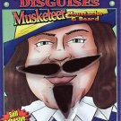 MUSKETEER MOUSTACHE & BEARD SET Costume Fake Facial Hair Mustache Goatee
