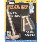 STOOL SAMPLE KIT Mini Hammer Softener Over The Hill Old Age Poop Joke Prank Poo