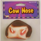Deluxe COW NOSE Funny Latex Rubber Barn Yard Animal Costume Mask Play Toy Prop