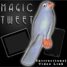 Deluxe FAKE RUBBER BLUE TWEET CANARY Bird Parakeet Latex Prop Magic Trick Video