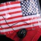 SILK TO USA FLAG Magic Trick Pull Hank Vanisher American Stars Stripes Hanky