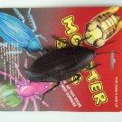 "6"" SUCTION CUP JUMBO COCKROACH Giant Bug Rubber Fake Prank Joke Gag Funny Roach"