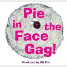 Classic PIE In The FACE GAG Throwing Clown Comedy Prop Magic Trick Funny Fake