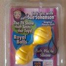 Sue Johanson Sex Royal Balls, Tangerine  by California Exotic Novelties