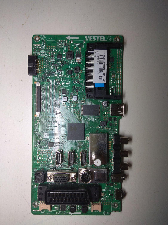 Vestel Mainboard 17MB97 for LED TV Hitachi 40HE1611FTR