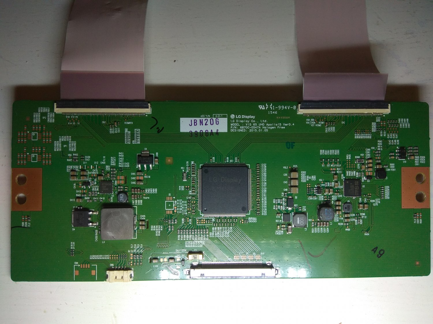 LG T-Con Board 6870C-0547A for LED TV LG 65UF6809