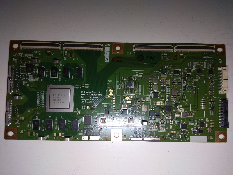 LG T-Con Board 6870C-0636F for OLED TV LG OLED55B6D